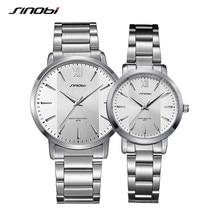 Couple Watches 2020 Luxury Brand Quartz Wristwatches Waterproof Steel W