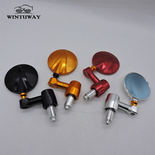 WINTUWAY 4 Colors Available Universal Motorcycle Rearview Mirror Moto CNC Side Mirrors All Aluminum View