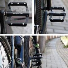 RAD UP Utral Versiegelt Fahrrad Pedale CNC Aluminium Körper Für MTB Straße Radfahren 3 Lager Fahrrad Pedal Nicht-slip fahrrad Zubehör