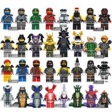 Горячие ниндзя мотоцикл совместим с legoINGly Ninjagoed ниндзя для детей Подарки Carmadon Kai Jay Zane Cole строительные блоки кирпичи игрушки