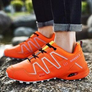 Image 4 - 運動靴男性のトレンド男性ランニングシューズ 2020 ホット販売ハイキングシューズ男性の大サイズの屋外カジュアルシューズメンズ
