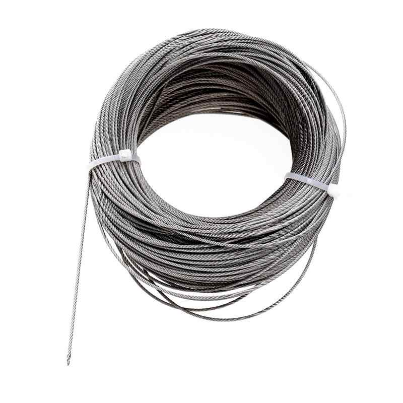 Type: 6 x 7 Rope Dia 4mm Galvanized Wire Rope 30m Roll