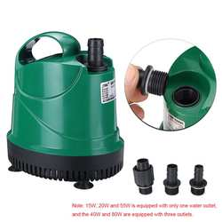 40W  55W  80W filtr pompy wody ultra cicha strona główna pompa głębinowa staw rybny woda akwariowa pompa fontannowa zbiornik do zaopatrzenia W ryby|Pompy wody|Dom i ogród -