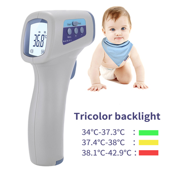 Baby Care Non-Contact Body Infrared Forehead Thermometer For Adults And Children With Lcd Display Digital Laser Temperature Tool