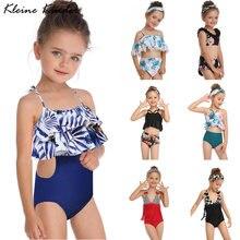 Детский комплект бикини 2020 летний купальник с кисточками для