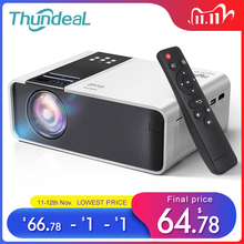 Thundeal Hd Mini Projector TD90 Inheemse 1280X720P Led Android Wifi Projector Video Home Cinema 3D Hdmi Movie game Proyector