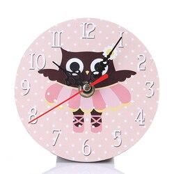 Twórczy zegar ścienny zegar dekoracja wnętrz nowoczesny Design sowa kwarcowy cichy cyfrowa ściana zegarek cichy zegar na ścianie