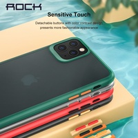 Rock Luxury Phone Case For iPhone 11 Pro Case For iPhone 11 Pro Max Case Coque For iPhone 11 Matte TPU Transparent Cover Funda|Fitted Cases| |  -