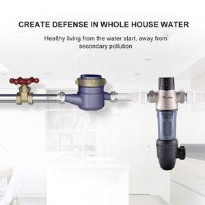 Image 2 - Wheelton Rvs 304 Hoofd Pre Filter Water Filter Opgewaardeerd Backwash Huis Water Gezuiverd Verwijderen Roest Sediment Gratis Schip