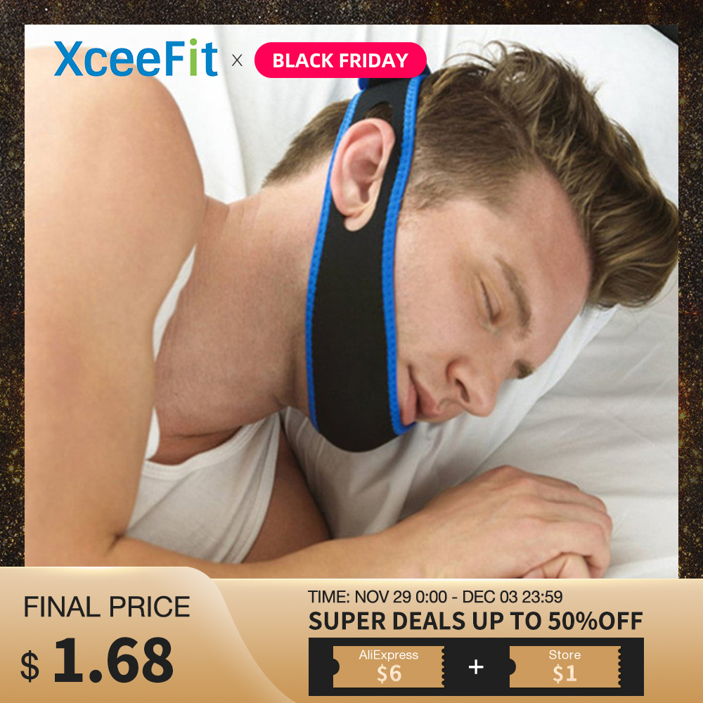 Chin Strap Anti Snoring Strap Snore Relief Sleep Apnea Snore Stop Belt Anti-Snoring Device To Stop Snoring Health Care For Men