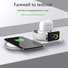 3 in 1 base wireless charger Apple mobile phone watch headse