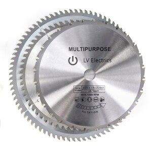 Image 3 - 1pc 250/255/300mm Kreissäge Klinge TCT Holz Sägeblatt Weichen Metall Holz Sah Schneiden disc