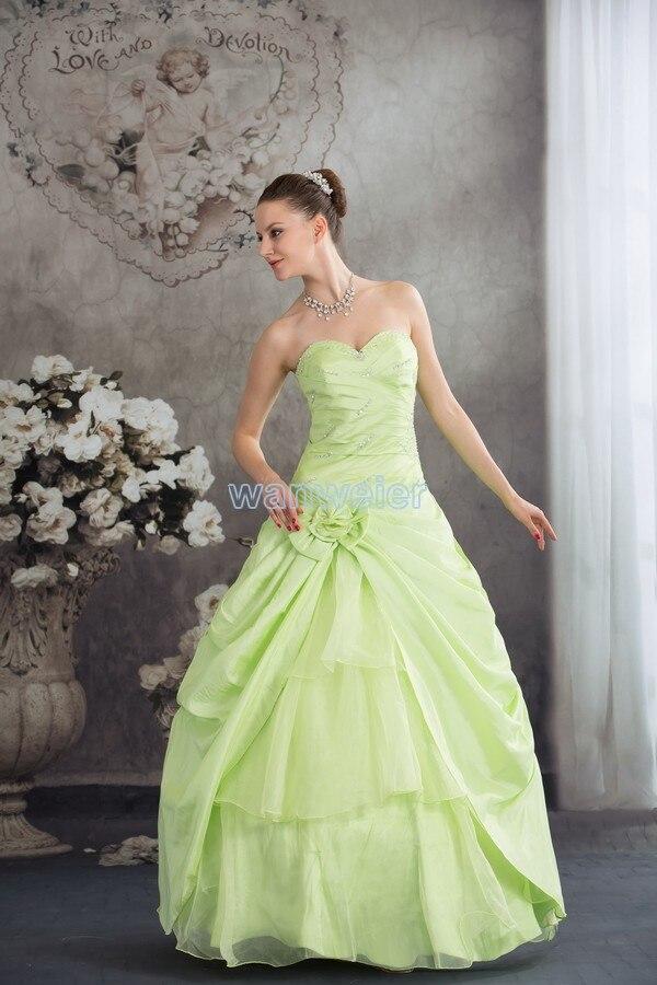 Free Shipping 2016 Aqua Fantasias Ever Pretty Plus Size Dresses Girl Clothes Handmade Custom Size/color Lace-up Weeding Dress