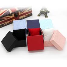 Zegarek pudełko biżuteria Wrist Watch trwała twarda obudowa kwadratowe pudełko na bransoletkę bransoletka pudełka na prezent pudełko do przechowywania pudełko tanie tanio CN (pochodzenie) Moda casual Gift Box Mieszane materiały