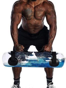 Bolsa de arena para entrenamiento de Pesas, equipo de Gimnasio, bolsa de agua para Fitness, equipo de ejercicio para entrenamiento muscular