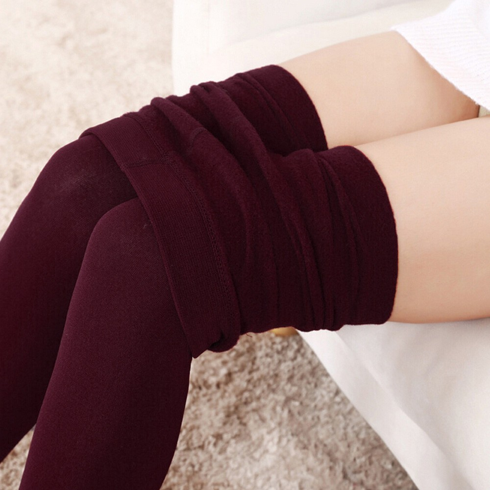 Winter Thermal Leggings Women Plush Cashmere Leggings Thick Leggings Elastic Slim Legging Лосины женские лосины Leggins Mujer