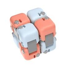 Original xiaomi mitu Cube Spinner Finger Bricks Intelligence Toys Smart Finger Toys Portable For xiaomi smart home Gift for Kid
