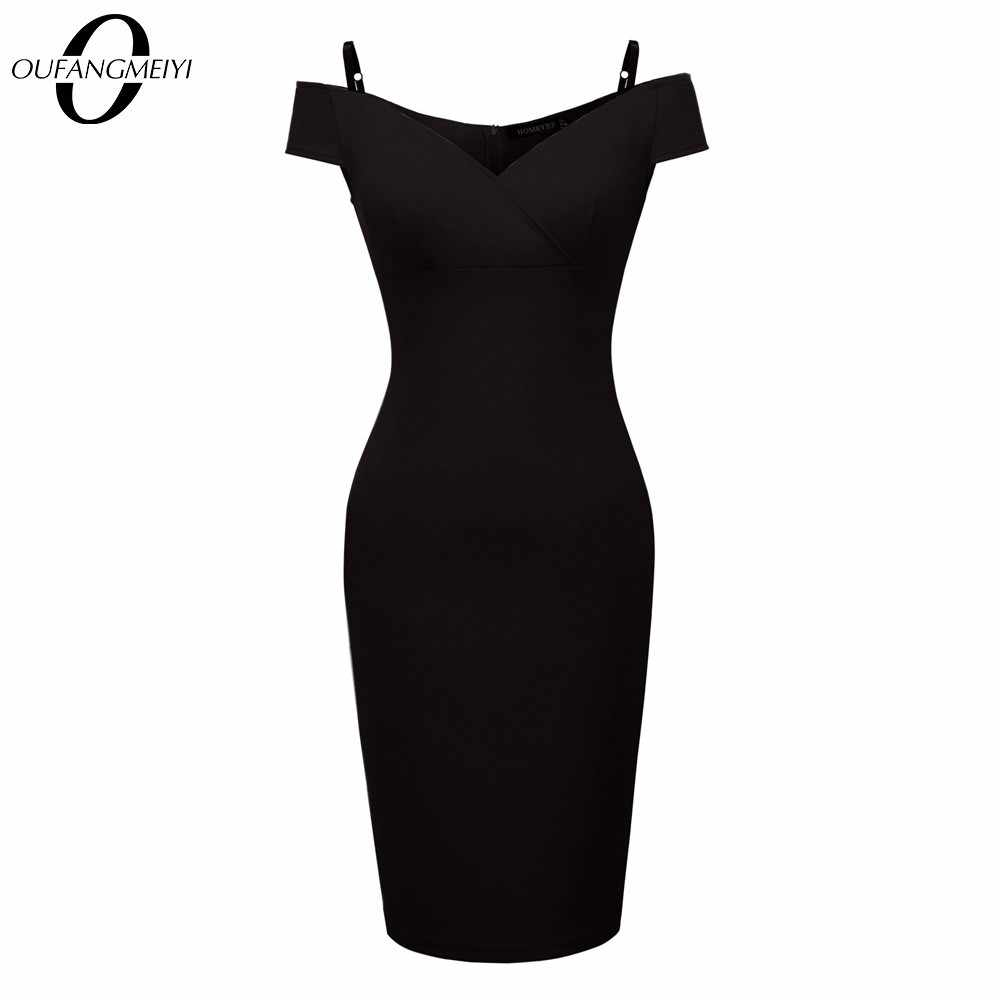 Sexy Vrouwen Low Cut Verstelbare Spaghetti Club Wear Elegant Charmant Bodycon Party Dress EB309