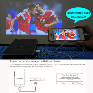 Image 2 - Newest Android7.1.2 Mini DLP LED Home Cinema Smart Projector 2G RAM Full HD 1080P Beamer Blutooth AirPlay Miracast AC3 Proyector