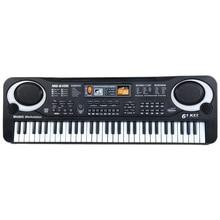 61 tasten Digitale Musik Elektronische Tastatur Bord Spielzeug Geschenk Elektrische Klavier Orgel Für Kinder Multifunktions Und Zart