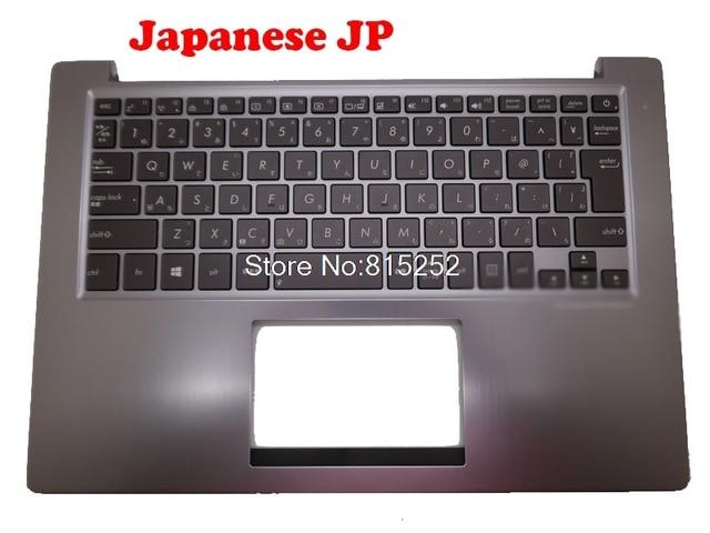 Laptop PalmRest/&Keyboard for ASUS U38 U38D U38N U38DT Grey C Shell Brown IT Italy Keyboard Without Touchpad 90R-NTH1K1E80Y 9Z.N8JBU.60E 0KNB0-3625IT00 0KN0-MY1IT23 13N0-N6A0111 13GNTH1AM051-1