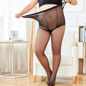 2 шт плюс размер женские колготки сексуальные модные высокие эластичные нейлоновые колготки эластичные женские тонкие прозрачные чулки же...
