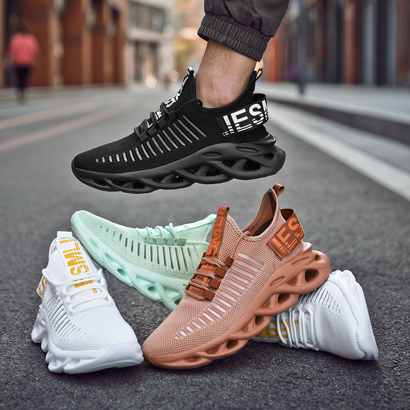 Men's Sneakers Mesh Breathable Big Size Sneakers Women Summer 2021 High Quality Platform Casual Light Soft Fashion Couple Shoes 5
