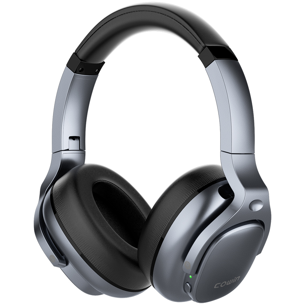 COWIN E9 ANC Bluetooth Headphones Active Noise Cancelling Headphones Wireless Headset Over Ear with Microphone Aptx HD sound