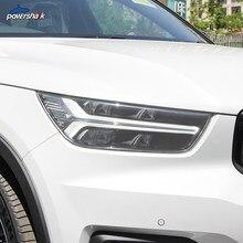 Araba far koruyucu Film ön ışık TPU tonu şeffaf çıkartma Volvo XC90 XC40 XC60 S60 S90 V60 V90 aksesuarları