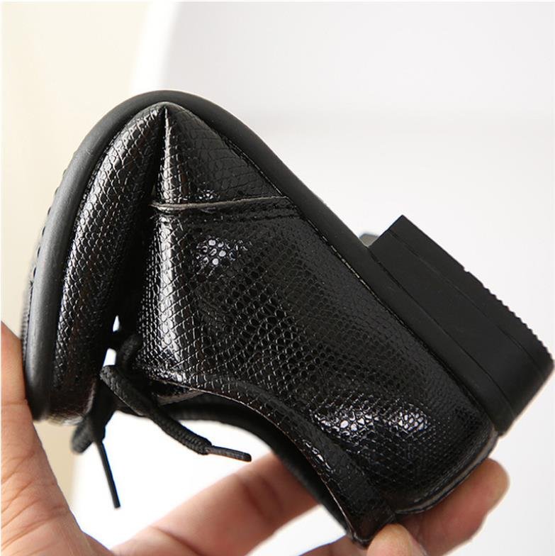 New Leather Shoes Children Loafers Black Baby Toddler Flats Boys Student Kids Dress Casual Party Shoes Kids