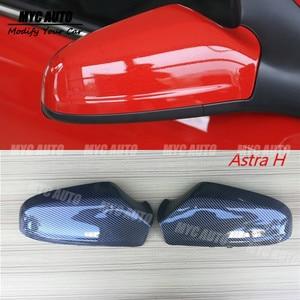 Con apariencia de fibra de carbono cubierta del espejo para Opel Vauxhall Holden Astra H J K 2004, 2005-2010, 2011, 2012, 2013, 2014, 2015 - 2019 Astra