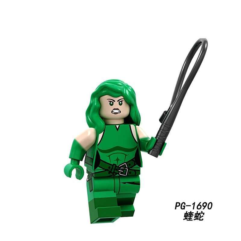 シングル販売ビルディングブロックスーパーヒーロードクタータコ Atom ヒドラデッドプールパニッシャー子供のおもちゃ PG8191