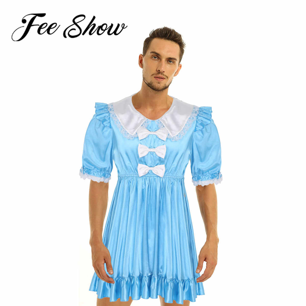 Cross Dresser Costume Men Sissy Doll