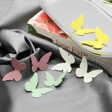 Горячая Распродажа Модные металлические милые серьги бабочки