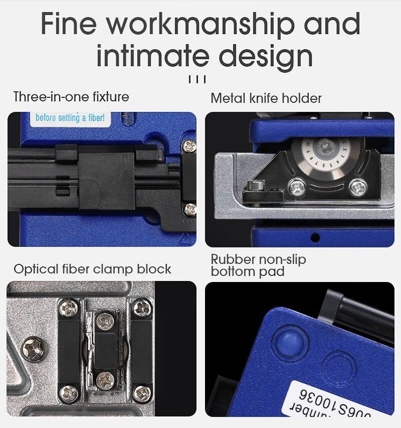 cleaver fttt cabo faca corte fibra óptica