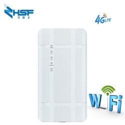 Waterproof Outdoor 4G CPE Router 3000Mbps CAT4 LTE Routers 3G/4G SIM Card WiFi Router for IP Camera/Outside WiFi Coverage