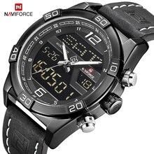 NAVIFORCE Men's Luxurious Brand Business Chronograph Watch M