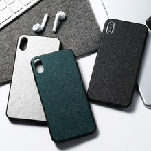 Cloth Texture Case For Huawei Huawei P20 P30 P10 Pro Plus P8 P9 Lite 2017 Case Silicon  Huawei Y9 Y7 Y5 Prime Y6 2019 2018 Cover silicon case for huawei y6 2018 y7 prime p8 lite 2017 nova 2 plus case cover huawei p10 lite honor 6a 6c pro case ring cover