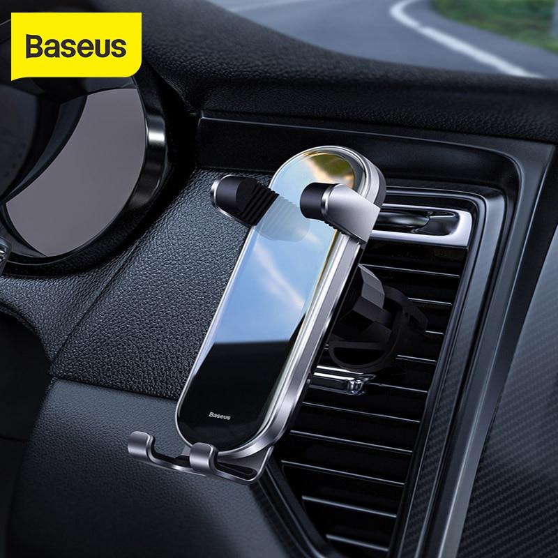 Baseus Car Phone Holder Air Vent Mount Phone Holder Stand for Universal Gravity Mobile Phone Holder 360° Rotation Car Holder