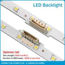 Новый 20 шт/лот светодиодная подсветка для samsung ue58nu7100