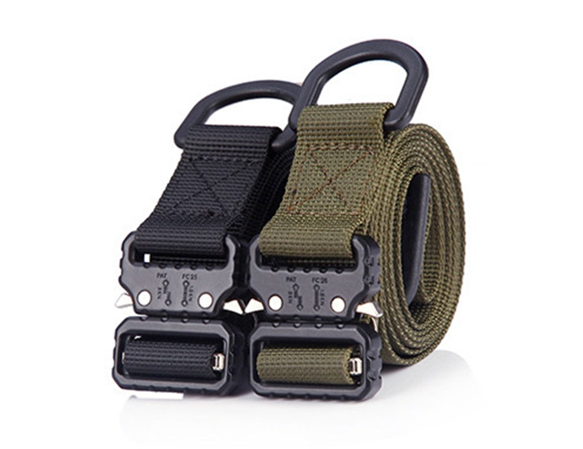 1 Inch Width Belts For Women Belt 25mm Wide Tactical Belts Men Canvas Quick Release Buckle Outdoor Army Military Training Strap