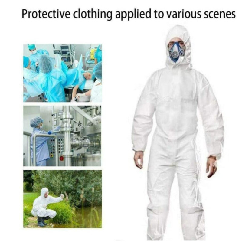 Reusable  Waterproof Oil-Resistant Protective Coverall For Virus Protection Spray Paint Decorat Clothes Coverall Suit