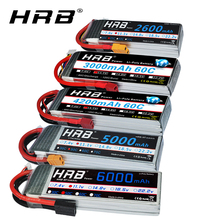HRB RC 3S lipo аккумулятор 11,1 V 5000mah 6000mah 2600mah 3000mah 3300mah 1800mah 12000mah 22000mah lipo с штекером Deans для RC автомобилей