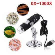 8LED 1000X Computers Real-Time Video Waterproof Digital Microscope Durable Monitoring Ear Cleaning Tool Inspection Camera