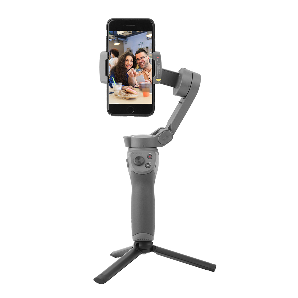 Portable Metal Desktop Tripod Base Phone Stabilizer Holder Stand Mount for Osmo Mobile 3 Handheld Gimbal Camera Accessories