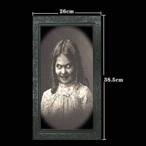 Image 5 - Verwisselbare 3D Ghost Foto Frame Halloween Decoratie Spooky Vrijgezellenfeest Supplies Craft Levert Halloween Props