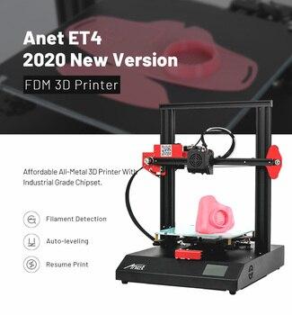 Anet  ET4/ET5X 3D Printer kit Impressora 3d With High Precision Extruder Resume Printing with 10m PLA Filament