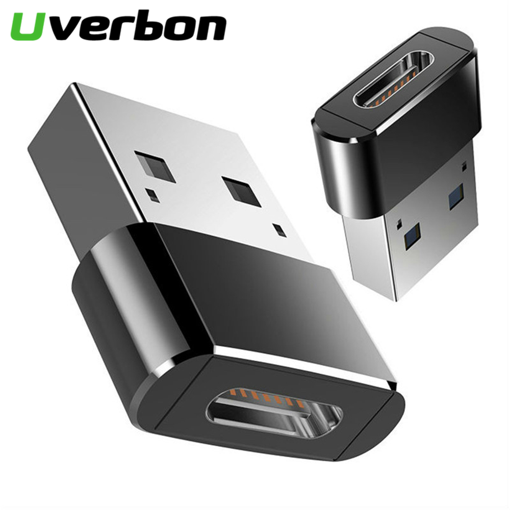 Type C Adapter USB C Female To USB2.0 Male Converter Type-C OTG Cable For Samsung Galaxy S8 S9 Huawei P20