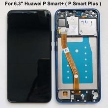 Przetestuj oryginał dla Huawei P Smart + (P Smart Plus) INE LX1 L21 Nova 3i ekran lcd + montaż digitizera ekranu dotykowego + ramka
