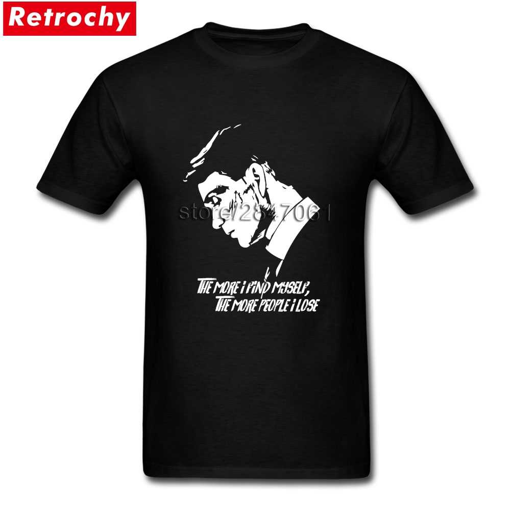 تي شيرت بيكي بليندرز السادة المتضخم قمصان رجالي قصيرة الأكمام رخيصة العلامة التجارية ملابس علوية تي شيرت